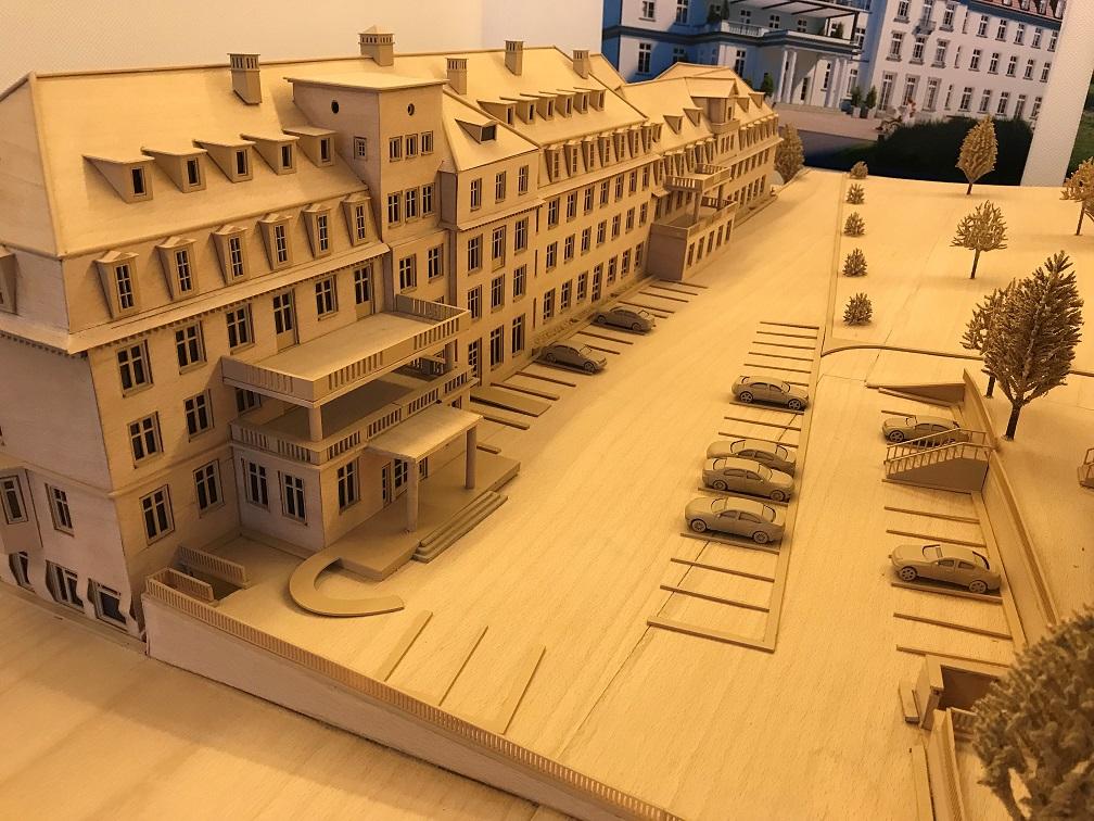 Neubau Präsentation Holz