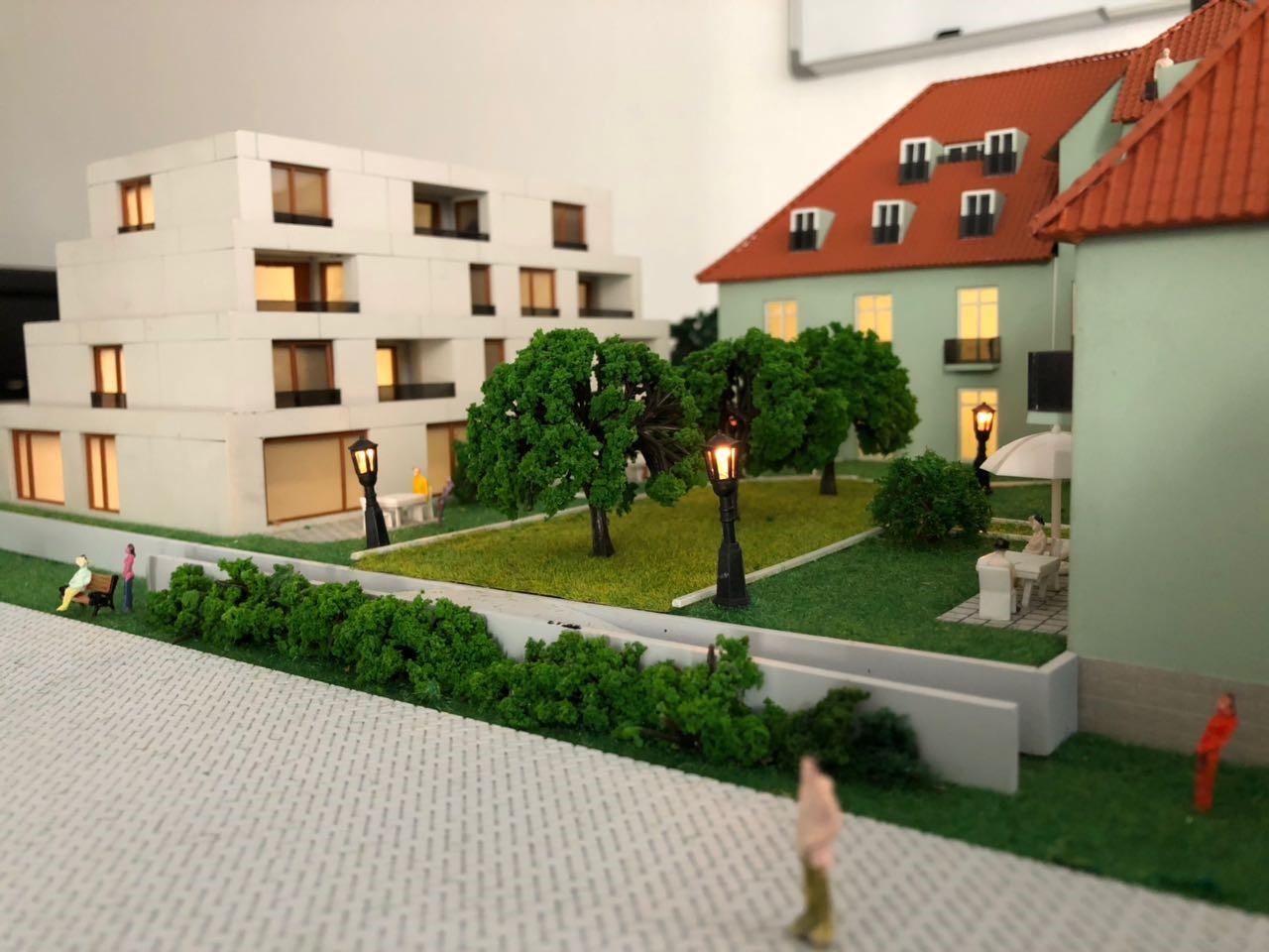 Architekturmodellbau Neubau