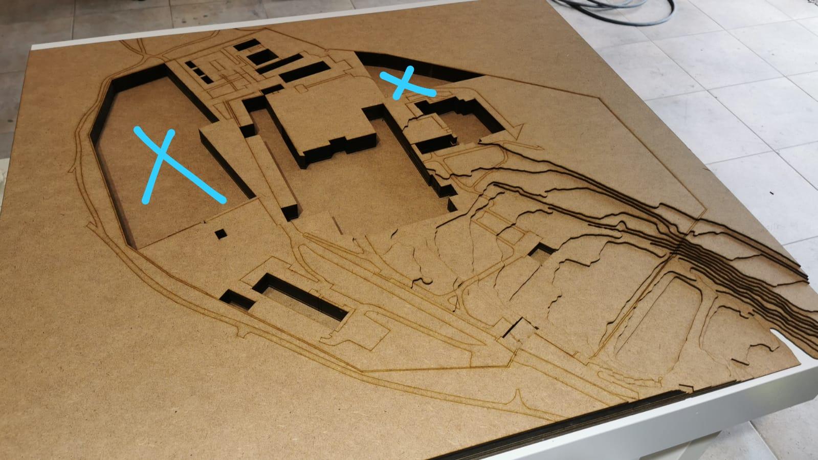 Einsatzplatten für Architekturbüros