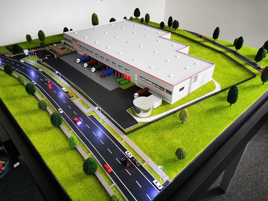Modell Immobilien Entwicklung