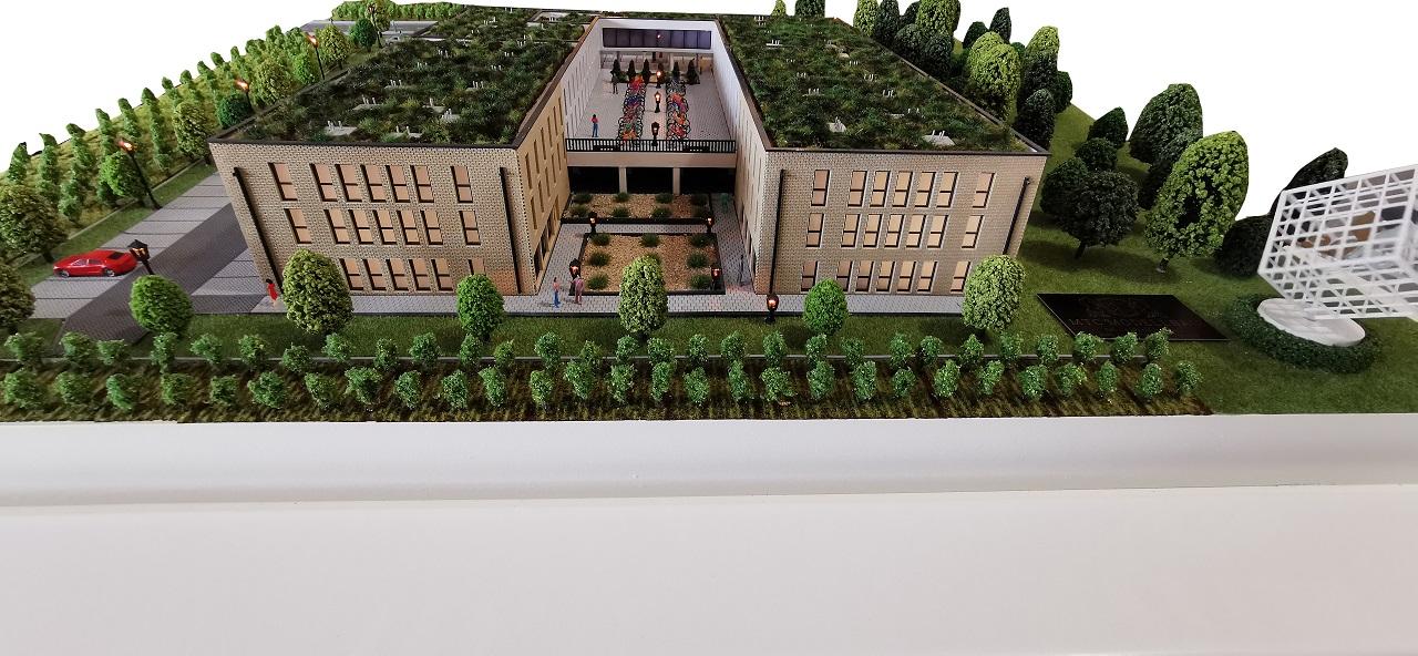 Modellbau mit Grünanlage