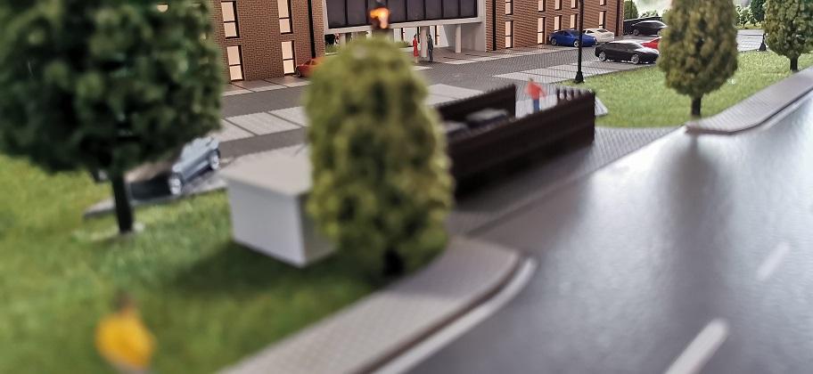 Strassenverlauf Modellbau