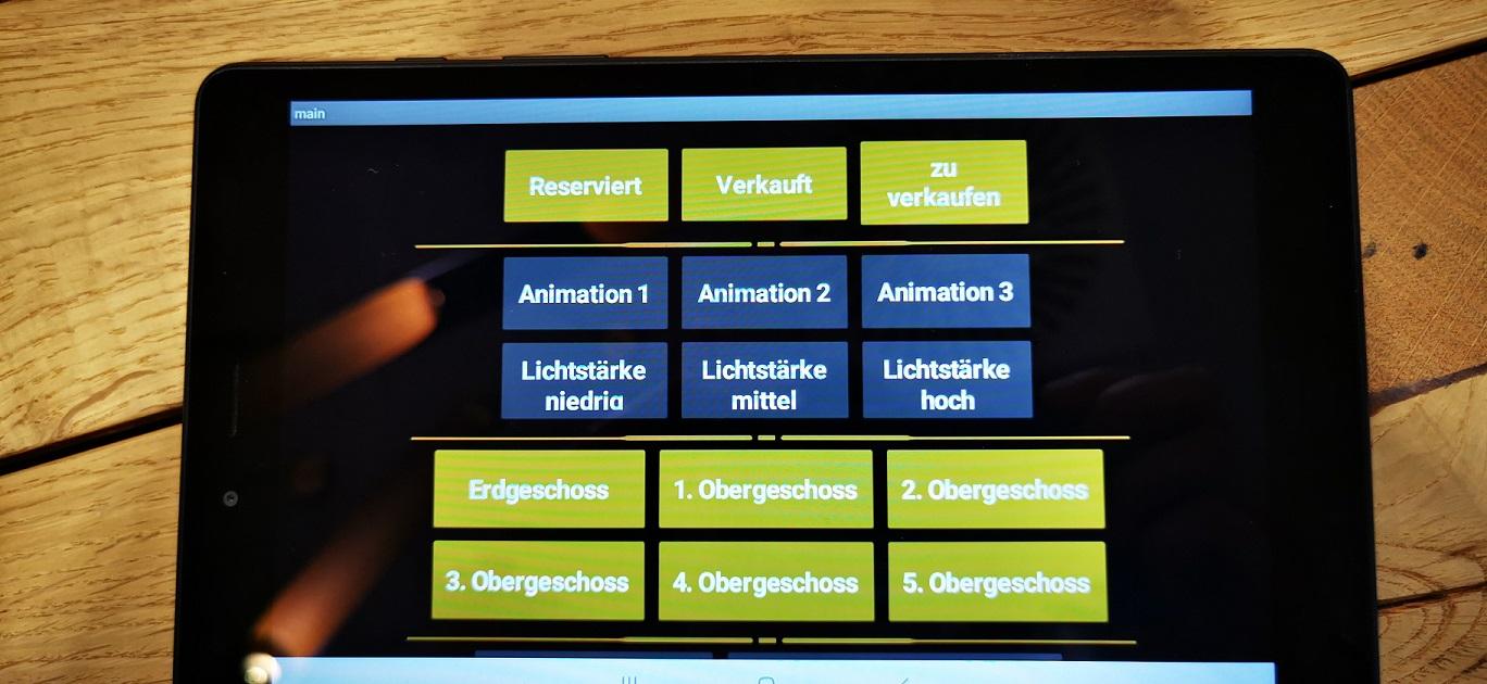 Tablet Startseite