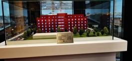 Plakette Modell Neubau