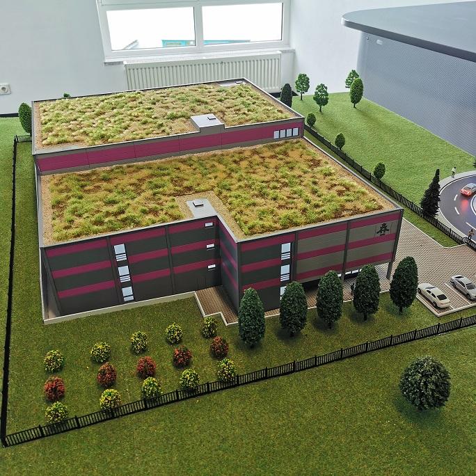 Architektur Modell Mainz