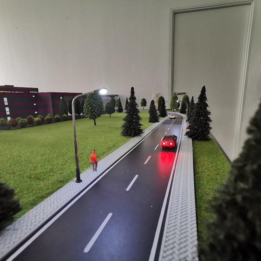 Modellbau Strassenverlauf