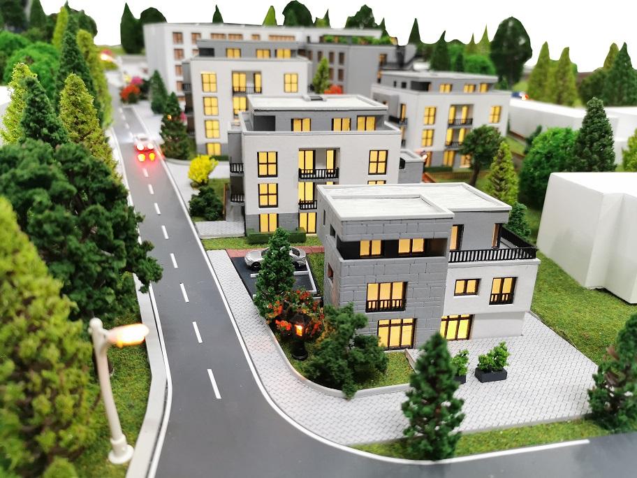 Architektur Modell Wuppertal