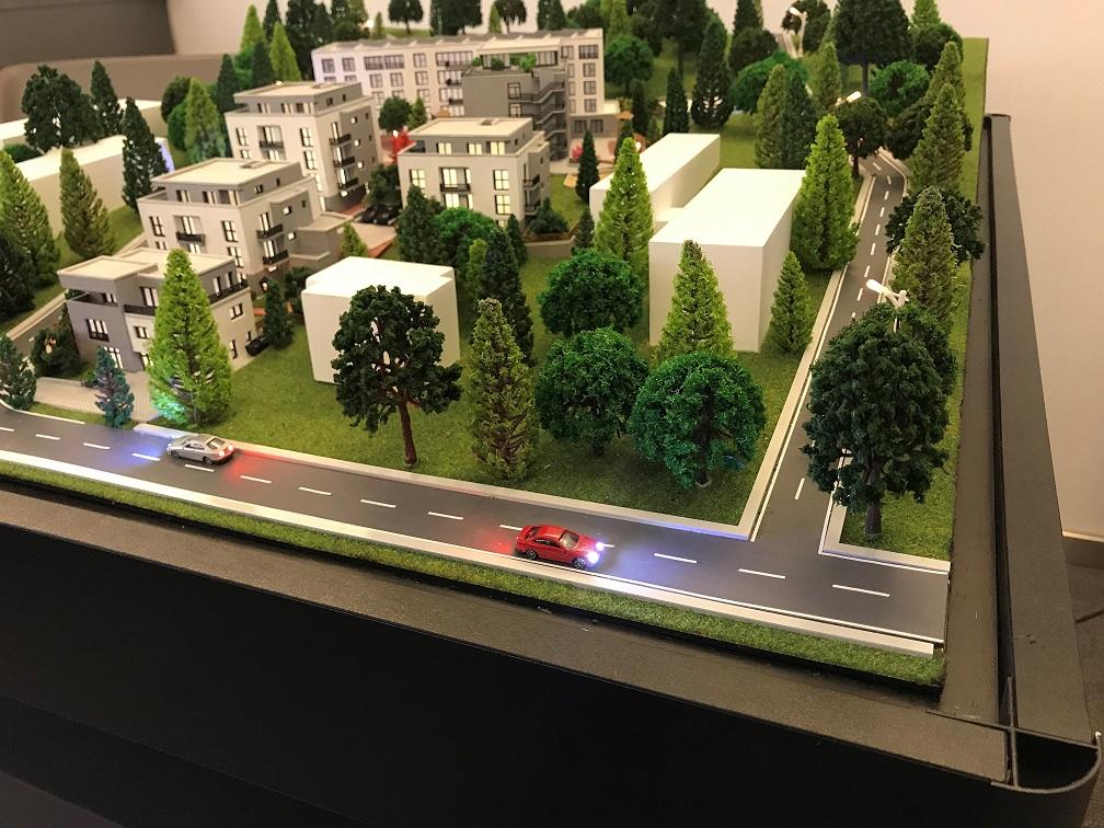 Modell für Bauvorhaben