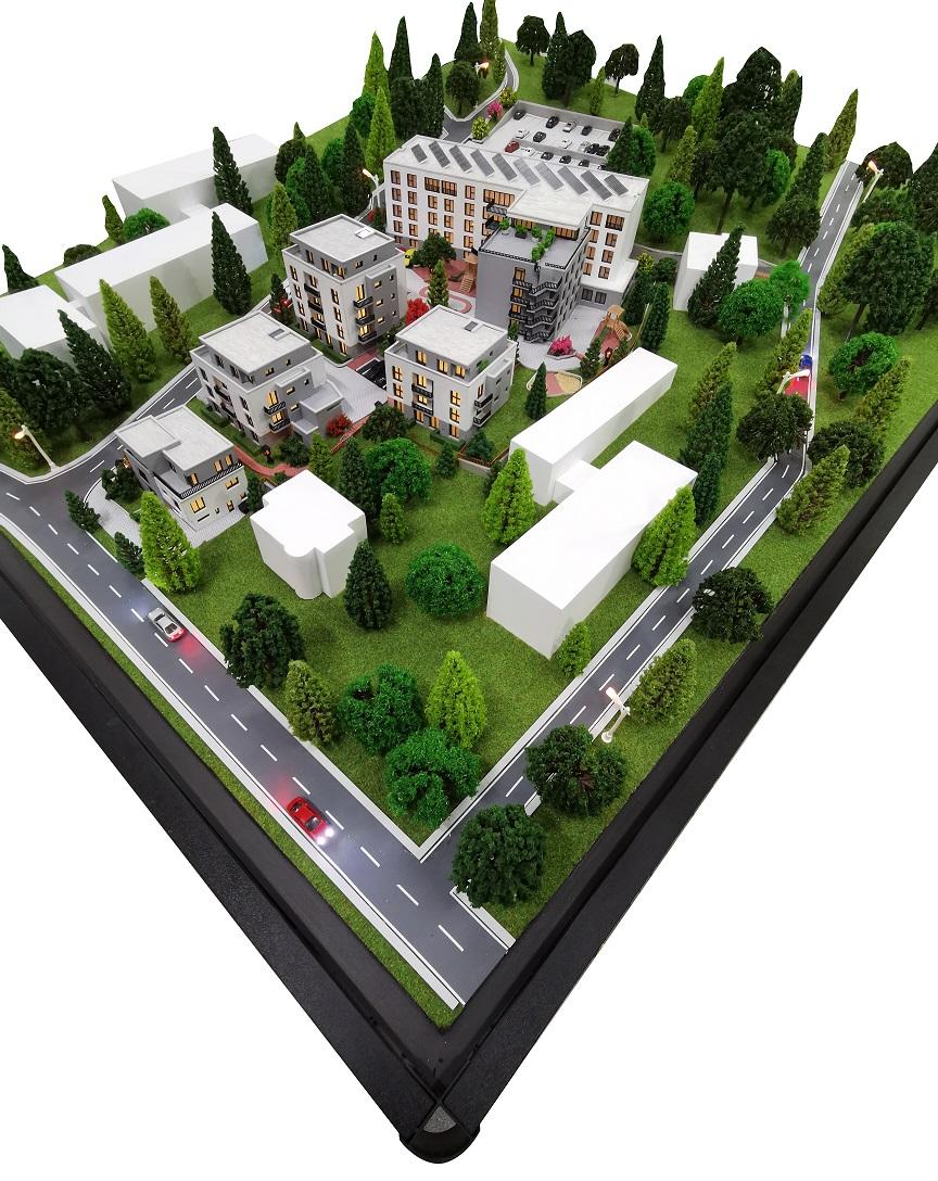 Modellbau Bauträger