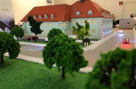 MTC Modellbau mit Mehrfamilienhäusern