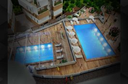 MTC Modellbau mit Schwimmbad