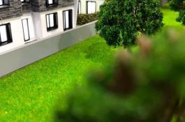 Miniatur Modellbau Immobilie