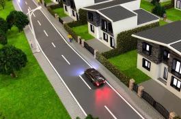 Architekturmodellbau mit Grünfläche