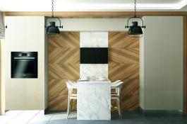 Architekturvisualisierung Küche