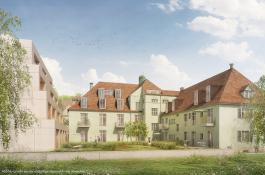 Forchheim Innenhof Bauprojekt