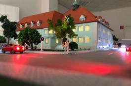 Modellbau Außenfassade
