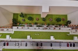 Modell Parkfläche