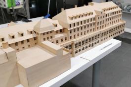 3D Modell aus Holz