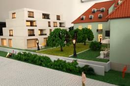 Architekturmodell Neubau