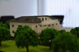 Modell für Bauprojekt