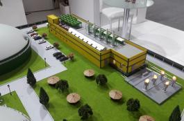 Architekturmodell Industrie