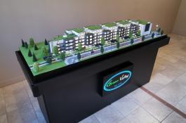 Immobilien Neubau Modell