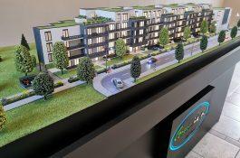 Modell Bau für Neubau