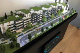 Immobilien Modell Frankfurt